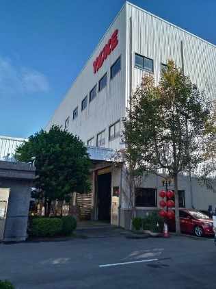 We have signed a cleaning contract with Yoke Industrial Corp. in Taichung